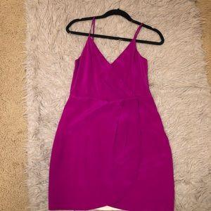 Lavender Brown Cocktail Dress